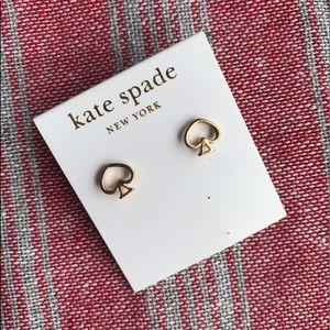 Kate Spade Gold Spade Earrings